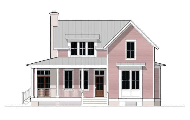 Moser Design Group Tnh Sc 50 Exterior New House Plans Bungalow House Design Small House Plans
