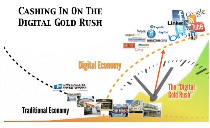 Cash in on the digital gold rush