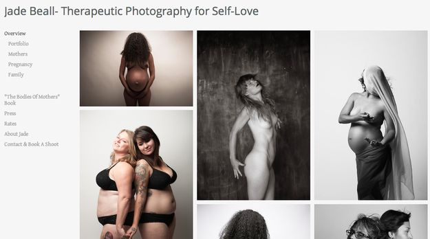 Jade Beall is a photographer whose work highlights women of every age and size feeling comfortable in their bodies. | 32 Amazingly Useful Websites Every Woman Needs To Bookmark