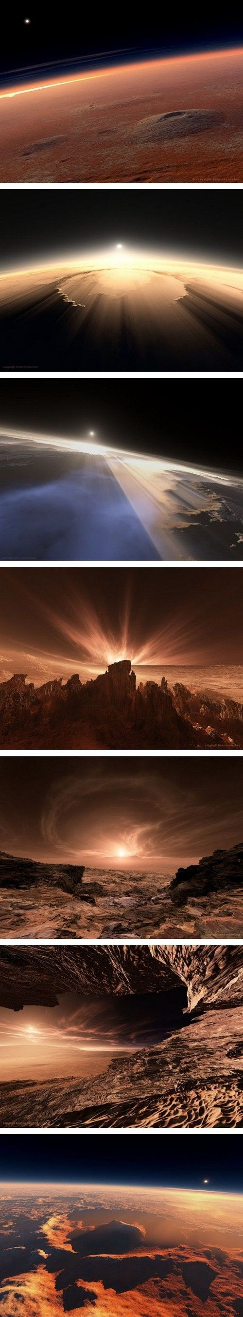 Ethereal landscapes nature photography by donna geissler - Photos Of Mars The Red Planet