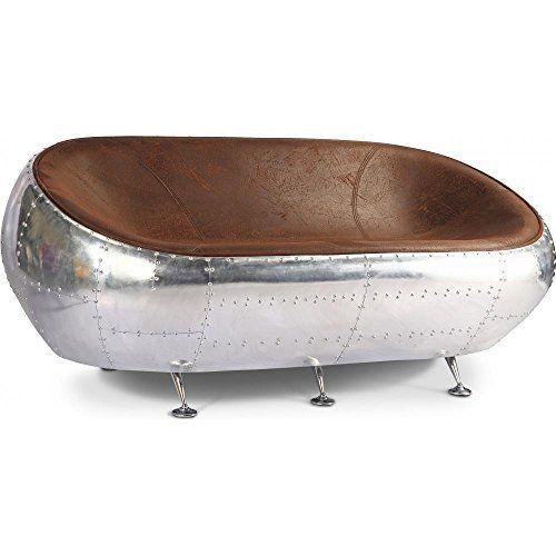 Canapé design Egg Aviator - Microfibre imitation cuir vieilli Marron Privatefloor http://www.amazon.fr/dp/B00QXDNLU4/ref=cm_sw_r_pi_dp_e0Clwb1R99ZWB