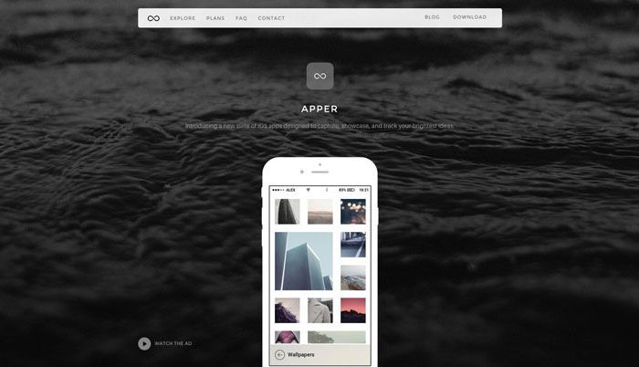 awesome Apper WordPress Theme