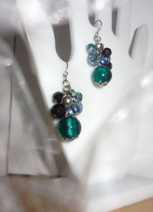 Kaufe meinen Artikel bei #Kleiderkreisel http://www.kleiderkreisel.de/accessoires/ohrringe/114543256-schone-blau-turkise-ohrringe-schmuck-turkis-hangend-neu-wertig
