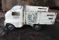 Vintage 1953 Tonka Toys Green Giant Private label Utility Truck COE