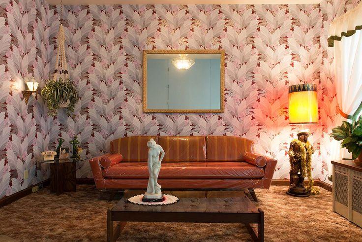 Imperial Nail Salon (my parents' living room) « Carlos Rolon Studio « Chicago-based artist Carlos Dzine Rolon