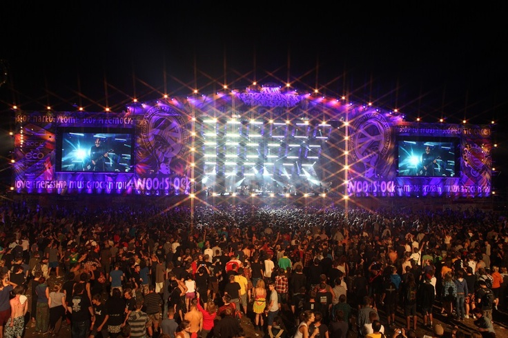18th Woodstock Festival Poland - the amazing Main Stage