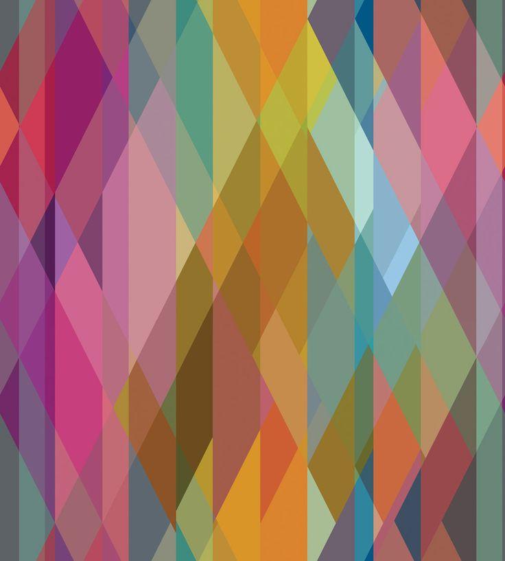 Prism Multi Coloured wallpaper by Cole & Son
