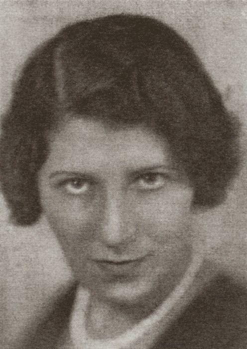 Céline Arnauld 1885- 1952 (born Carolina Goldstein , Călăraşi (Romania) suicide at Paris) .She was Writer, Poet director of the short-lived but appreciated journal Projecteur and a collaborator of 391, Z and other Dadaist journals.