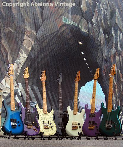 vintage kramer evh guitars serial number