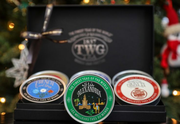 TWG Tea – World Voyage New Year's Tea Set | 5 Luxury Holiday Gift Ideas