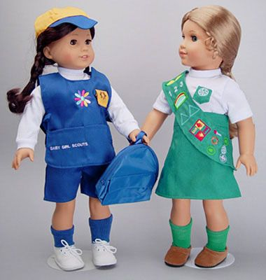 daisy and junior girl scout uniforms for american girl dolls
