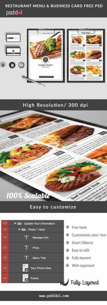 23 best Banner design images on Pinterest Banner design, Flyer - free food menu template