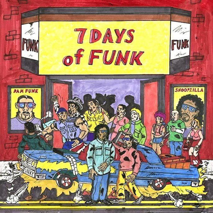 Dâm-Funk fit. Snoopzilla (7 Days of Funk)
