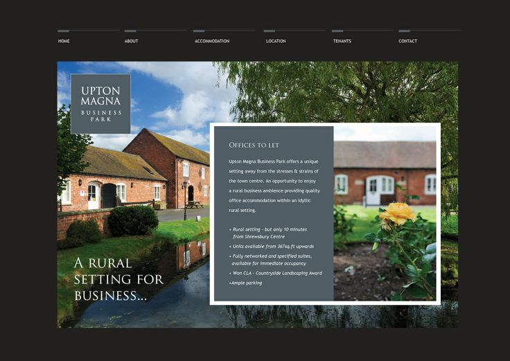 Upton Magna commercial offices - Website Design #WebDesign #SourceDesign #Shrewsbury