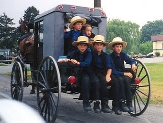 Amish...simple life.....def. something to be said for them