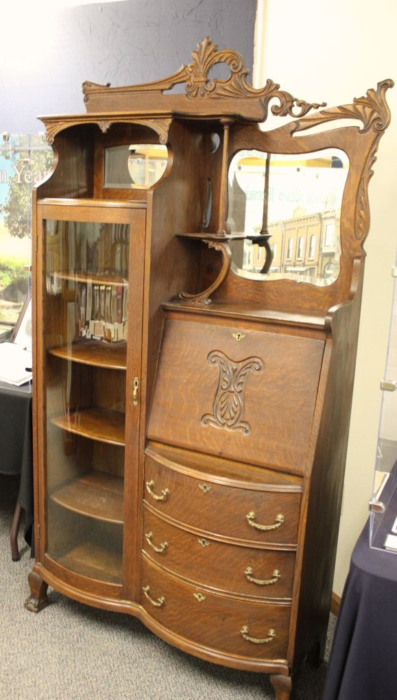 Furniture item belonging to one of Laura Ingalls Wilder's relatives near De Smet, SD - recently purchased by the Laura Ingalls Wilder Memorial Society. #history #artifact - Discover Laura in De Smet, SD