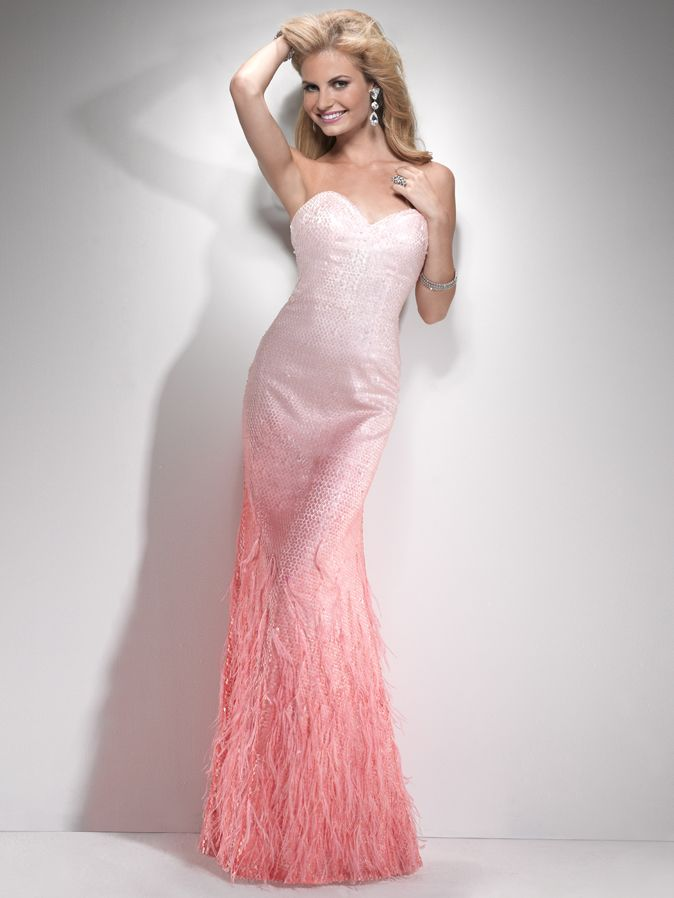 58 best Ombre Gowns images on Pinterest   Formal evening dresses ...