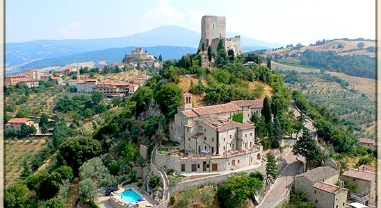 Amazing hotel in Tuscany.     http://www.hotelsansimeone.com/vacation_tuscany.htm