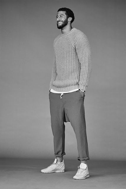 Colin Kaepernick para The Journal de Mr. Porter por Blair Getz Mezibov