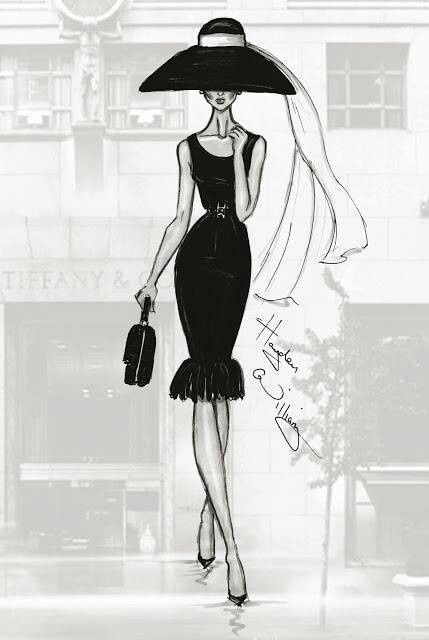Williams fashion illustrations