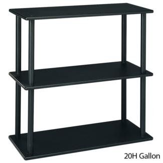 Aquatic Fundamentals 10/20 Gallon Aquarium Stand with Shelf - http://aquarium-world.com/?product=aquatic-fundamentals-1020-gallon-aquarium-stand-with-shelf