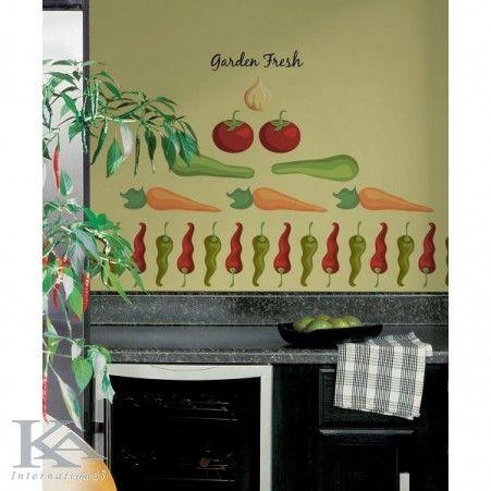 Garden Fresh. Vegetables Sticker.