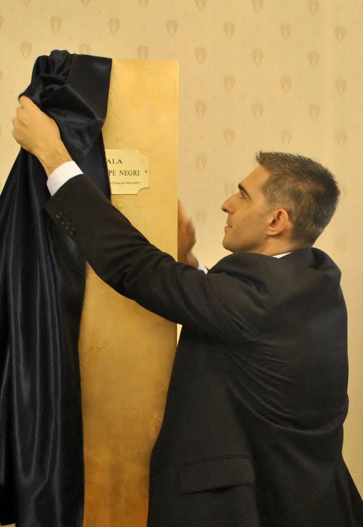 Intitolazione della Sala del Consiglio a Giuseppe Negri (Ph. Annalisa Andolina)