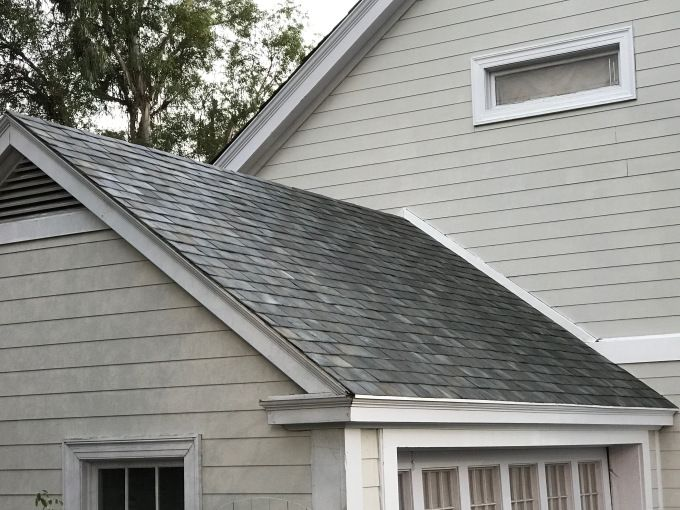 These are Tesla's stunning new solar roof tiles for homes   Tesla founder and CEO Elon Musk wasn't kidding when he said that the new Tesla solar roof product was better looking than an ordinary roof: the roofing replacement with solar energy gathering powers does indeed look great. It's a far cry from the obvious and somewhat weird aftermarket panels you see applied to roofs after the fact today. The solar roofing comes in four distinct… Read More #GreenTech #TC #Te