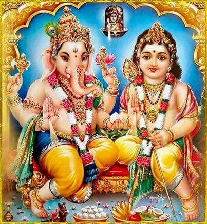 Ganapati Kartikey, ( Skand,Murugan)