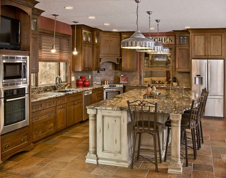 Rustic Kitchen Cabinet Doors Maple Glaze Kitchen Cabinets, Rustic Finish photo - 6