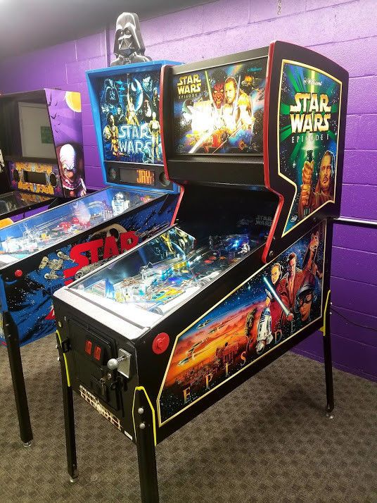 Star Wars Episode 1 Pinball Machine (Refurbished With A Warranty
