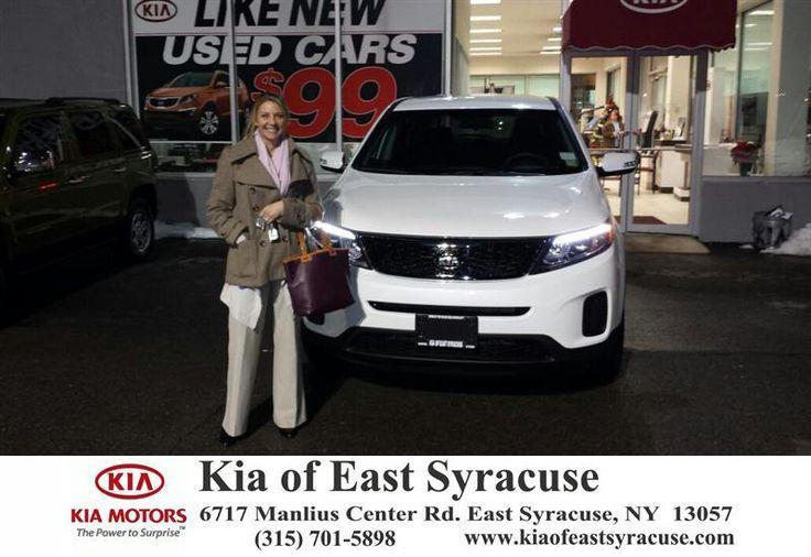 Congratulations to Carol Tobin on your #Kia #Sorento purchase from David Pistello at Kia of East Syracuse! #NewCar
