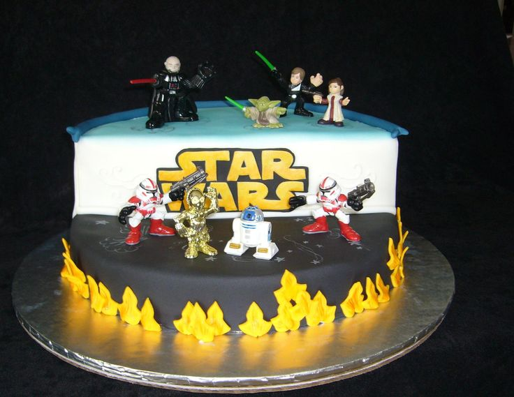 50 best star wars cakes images on Pinterest Star wars cake Star