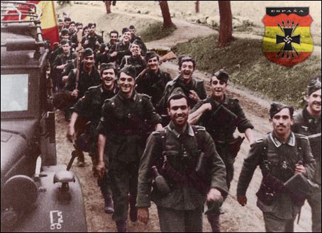 La División Azul - Spanish volunteers fighting for Nazi Germany
