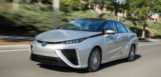 Primeiro carro movido a hidrogênio produzido em série começa a ser vendido no Japão (Foto: Divulgação/ Toyota) http://glo.bo/1wSkKNe