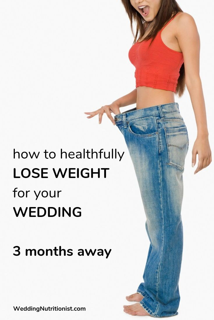 Wedding your lost for weight