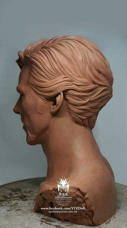 Benedict Cumberbatch sculpture