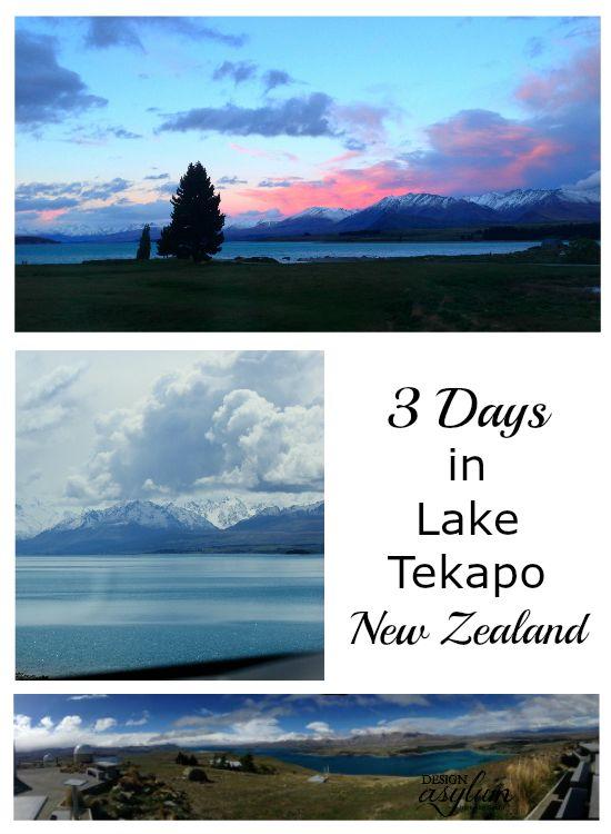 Traveled: Lake Tekapo New Zealand
