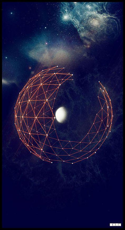 Retro Space Illustration
