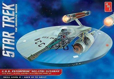 Star Trek 49211: Amt Star Trek Enterprise Cutaway Tos 1 537 Scale Plastic Model Kit New 891 X -> BUY IT NOW ONLY: $36 on eBay!