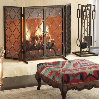 41 best Fireplace Screens images on Pinterest | Fireplace screens ...