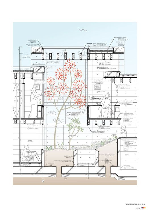 Ping Mall Plan Elevation Section : Best images about architectural drawings on pinterest