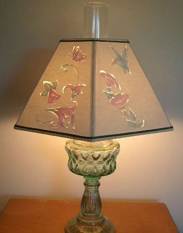 Lampshades shades of country