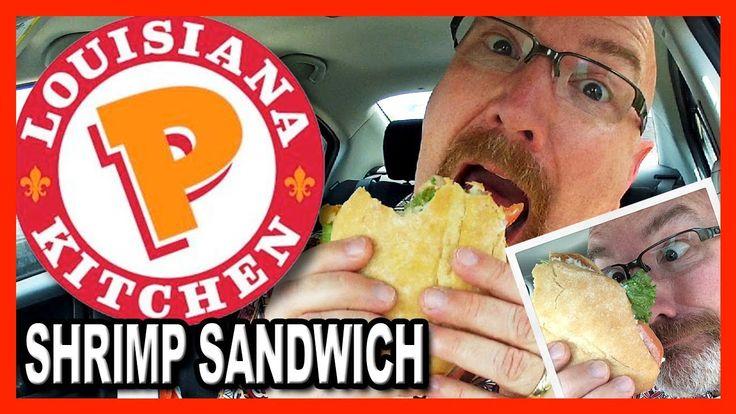 Popeyes Louisiana Kitchen ♥ Shrimp Sandwich Combo Review