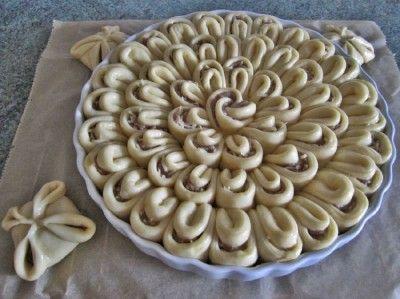 Мясной пирог «Хризантемка» - Простые рецепты Овкусе.ру