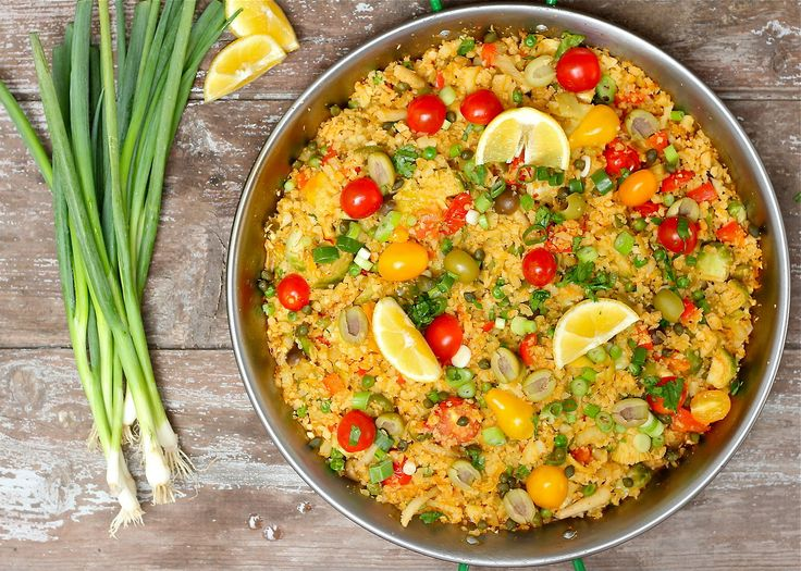 Paleo Vegetable Paella