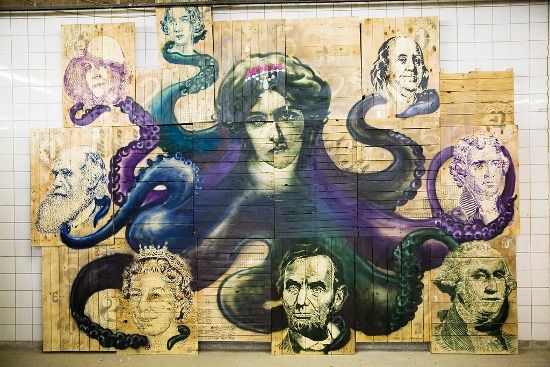 Emess - Floß der Medusa (The Raft of the Medusa) - Image Copyright ATM Gallery