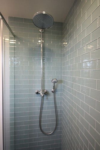 Bathroom White Subway Tile Glass Mosaic Design, Pictures, Remodel, Decor and Ideas - page 16