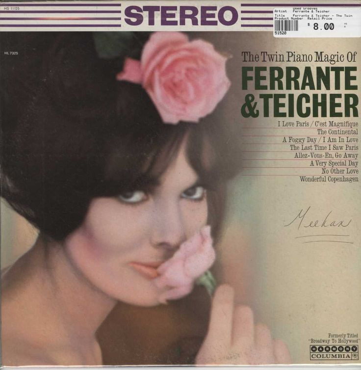 Ferrante & Teicher - The Twin Piano Magic Of Ferrante & Teicher