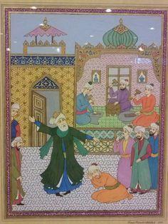 Ömer Faruk Atabek - Mevlana'nın Kuyumcular Çarşısında Sema Edişi
